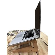 kệ gỗ để bàn máy tính xách tay gỗ loại cao thumbnail