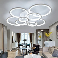 Đèn trang trí - đèn trần LED 8 cánh 3 chế độ ánh sáng có điều khiển từ xa tăng giảm NATURAL LAMP thumbnail