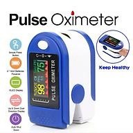 Máy đo nồng độ Oxy, SpO2 trong máu kẹt ngón tay kỹ thuật số màn hình LED thumbnail