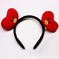 Bờm tóc BT21 headband BTS tặng móc khóa BTS thumbnail
