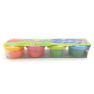 Bộ bột nặn Dough SK-DC20R 4 hũ 4 màu (1 hũ 20g ) kèm 4 khuôn t thumbnail
