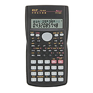 Portable Multifunctional Scientific Calculator 2 Line LCD Display 240 Functions Battery Powered Stationery Calculating thumbnail