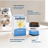 Men vi sinh OptiBac for Everyday Wellbeing tăng cường và duy trì sức khỏe hằng ngày 30 viên - Nhập khẩu UK thumbnail