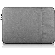 Túi đựng Macbook Air, Pro cao cấp 13.3 inch Chống Sốc 2 Ngăn (ghi xám) - Hàng Chính Hãng thumbnail
