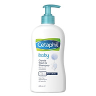 Sữa Tắm Gội Toàn Thân Cetaphil Baby Gentle Wash Shampoo 2 in 1 (400ml) thumbnail