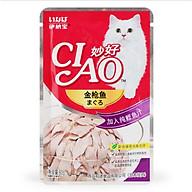 Sốt cho mèo Pate cho mèo Ciao 60gr thumbnail