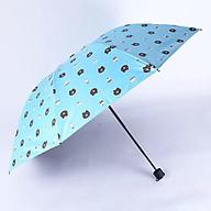 Ô dù đi mưa gấp gọn hình gấu Brown thumbnail