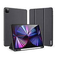Bao da iPad Pro 11 inch 2021 Dux Ducis Domo (có khay đựng bút) - Hàng chính hãng thumbnail