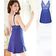 Váy ngủ, đầm ngủ phối ren cao cấp CoreleV sexy, gợi cảm quyến rũ 7011A thumbnail