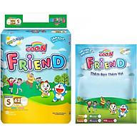 Tã Quần Goo.n Friend Gói Cực Đại S62 (62 Miếng) + Tặng Thêm 8 Miếng thumbnail