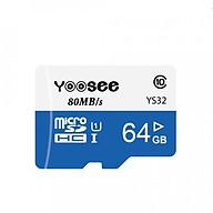 Thẻ Nhớ Camera Yoosee 64GB, Tốc Độ Đọc Class 10 - Hàng Chính Hãng thumbnail