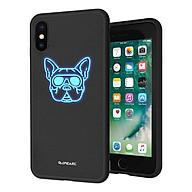 Ốp Dành Cho iPhone XS Max iPearl Luminous (6954268135438 - Black Bulldog) - Hàng chính hãng thumbnail