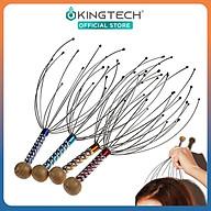 Cây massage đầu bạch tuộc KINGTECH - Dụng cụ mát xa đầu thư giãn, giảm căng thẳng - Giao màu ngẫu nhiên thumbnail