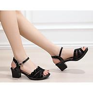 giày sandan gót vuông đính đá 5f thumbnail