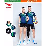 Bộ quần áo bóng chuyền cao cấp thương hiệu HIWING W2 màu tím than thumbnail
