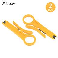 Aibecy 2pcs Mini Portable Wire Stripper Plier Muti-Functional Crimper Cutter for 3D Printer Cable PTFE Cable thumbnail