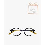 aojo - Gọng kính oval thời trang AJ201FF460-BKC1 thumbnail