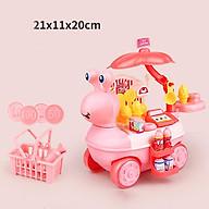 Bộ đồ chơi xe kem 27 món kèm xe kem hình ốc sên vui vẻ bằng nhựa nguyên sinh ABS an toàn cho bé yêu DC022 thumbnail