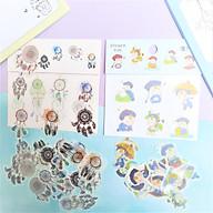 Combo 2 Bộ 32 Sticker Hình Dán Mini Tiểu Cương Thi Nam Va Dreamcatcher thumbnail