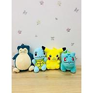 Gấu bông Pokemon Combo 4 pokemon dang móc khóa thumbnail