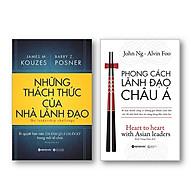 Combo Sách Lãnh Đạo Những thách Thức Của Nhà Lãnh Đạo + Phong Cách Lãnh Đạo Châu Á thumbnail