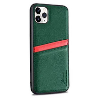 Ốp lưng cho iPhone 11 Pro Max (6.5 ) hiệu j-CASE Leather Card chống sốc - Hàng nhập khẩu thumbnail