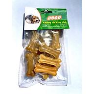 Đồ chơi cho chó XƯƠNG DA BÒ , Xương gặm cung cấp can xi, làm sạch răng chó thumbnail