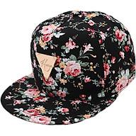 Mũ nón lưỡi trai snapback nữ SB29 hoa hồng thumbnail