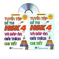 Combo 2 sa ch Bộ đề tuyê n tâ p đê thi năng lực Hán Ngữ HSK 4 va đa p a n gia i thi ch chi tiê t + DVD ta i liê u thumbnail