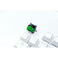 Keycap Sirius clone tone đen lá đậm trang trí bàn phím cơ thumbnail