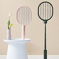 Vợt bắt muỗi thông minh điều chỉnh độ cao JISULIFE - Vợt điện muỗi tích hợp đèn LED bắt muỗi hiệu quả - Vợt muỗi 3 lớp lưới an toàn dung lượng Pin lớn - Hàng Chính Hãng thumbnail