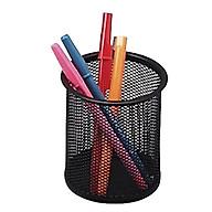 Ống đựng bút kim loại dạng đan lưới bền đẹp, gọn nhẹ, chống gỉ - dụng cụ văn phòng tiện ích thumbnail