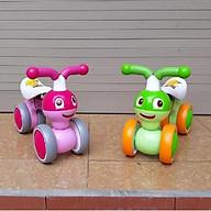 Xe chòi chân thăng bằng cho bé mẫu mới 2019 (xe bơi cân bằng hàng cao cấp)- màu cho bé gái - chọn màu ngẫu nhiên thumbnail
