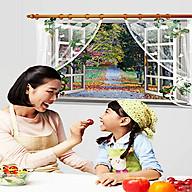 decal dán tường cửa sổ con đường sk9020c thumbnail