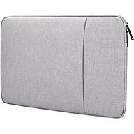 Túi Đựng Laptop Dành Cho Macbook Air, Pro Cao Cấp Chống Sốc 2 Ngăn Hàng Chính Hãng Helios - 13.3 - Màu Ghi thumbnail