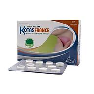 Viên ngậm kháng viêm, phù nề, sưng tấy KOTAS FRANCE- Hộp 20 viên thumbnail
