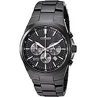 Citizen Men s Quartz Stainless Steel Casual Watch, Color Black (Model AN8175-55E) thumbnail
