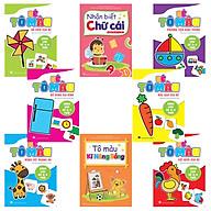 Combo 8 cuốn Tô màu Bé học IQ (3-4 tuổi) thumbnail