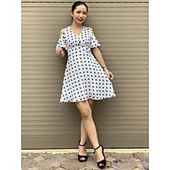 Đầm xòe chấm bi hở vai SEFA MKFD192124 thumbnail