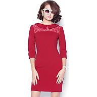 Đầm ôm nữ đỏ đô DDC0721DD thumbnail