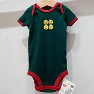 Bodysuit sơ sinh BAA BABY ngắn tay hình thêu cho bé trai từ 0-12 tháng - BN-BD01N thumbnail