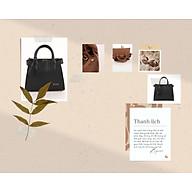 Túi đẹp - Túi xách nữ cao cấp - Hàng nhập khẩu trực tiếp - Màu Đen thumbnail
