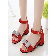 Sandal cho bé phong cách Hàn Quốc dễ thương ES004DO thumbnail