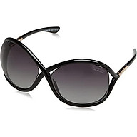 Tom Ford Women s FT0009 Sunglasses, Black thumbnail