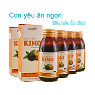Combo 6 chai Siro tỏi đen Kimo 125ml Siro ăn ngon, tiêu hóa ổn định, tăng cường đề kháng thumbnail