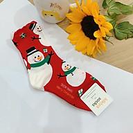 Tất vớ dài Noel Giáng sinh dễ thương Kikiya cao cấp Hàn Quốc W-C-146 (Chính Hãng) thumbnail