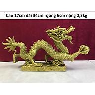 Tượng rồng vảy tiền cắp ngọc bằng đồng MS97 thumbnail