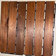 Sàn gỗ tự nhiên vỉ nhựa ngoài trời 12 Nan - Vỉ Sàn Gỗ Tự Nhiên Ngoài Trời Tiêu Chuẩn thumbnail
