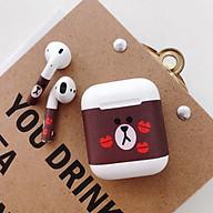Decal skin trang trí hộp sạc và tai nghe Apple Airpods chống bẩn, hình ảnh độc đáo thumbnail