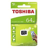 Thẻ Nhớ Micro SDXC Toshiba 64GB (100Mb s) - Hàng Nhập Khẩu thumbnail
